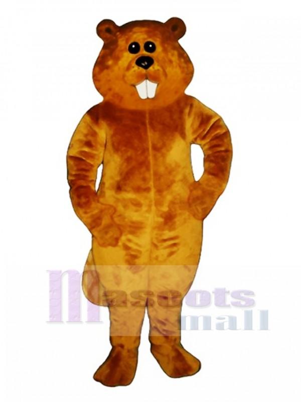 Albert Beaver Mascot Costume