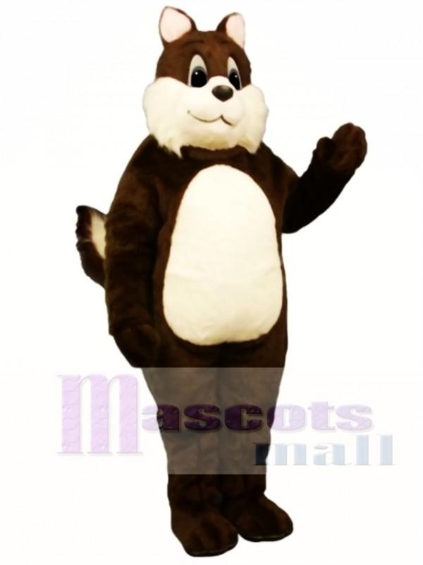 Sam Squirrel Mascot Costume