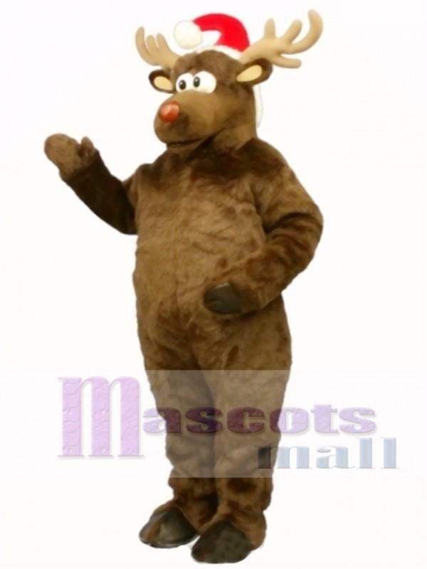 Christmas Deer with Hat Christmas Mascot Costume Animal