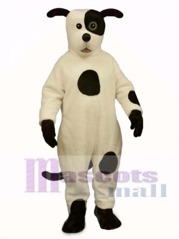 Cute Johnny Spot Dog Mascot Costume