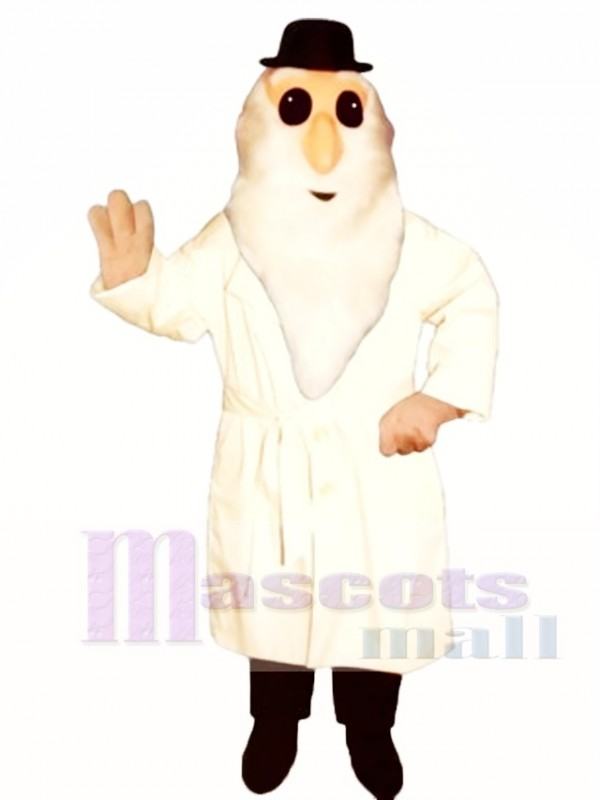 Dirty Old Man Mascot Costume