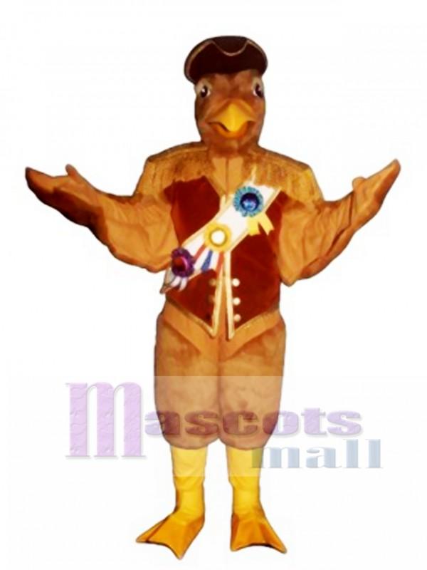 Cute Admiral Albatross Mascot Costume
