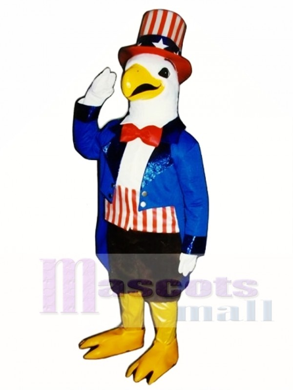 Cute American Eagle Mascot Costume