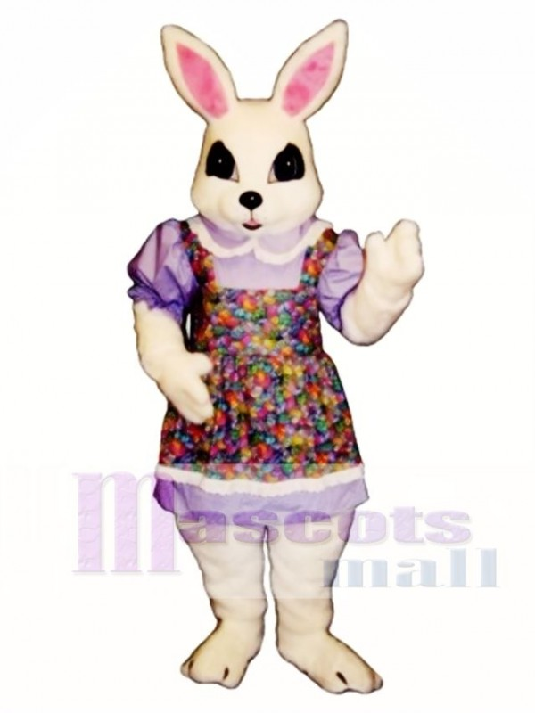 Cute New Easter Bethany Bunny Rabbit Mascot Costume