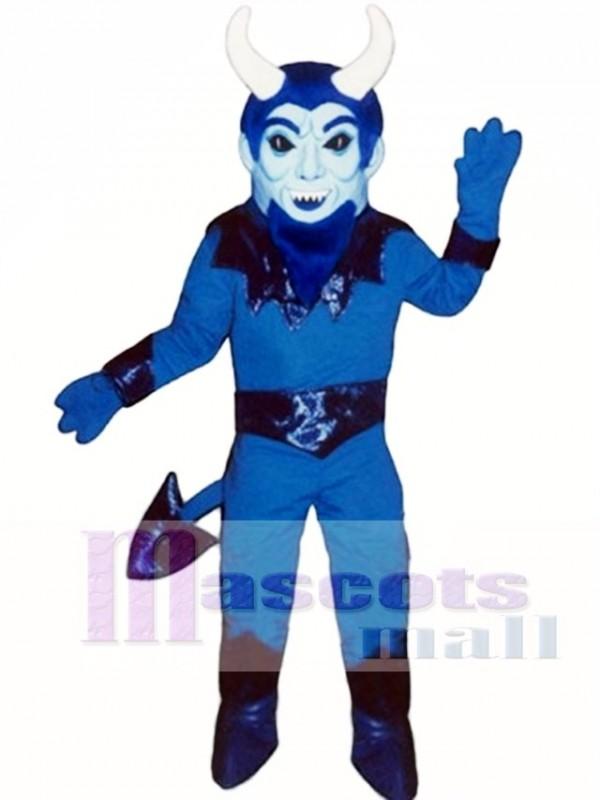 Blue Devil Mascot Costume