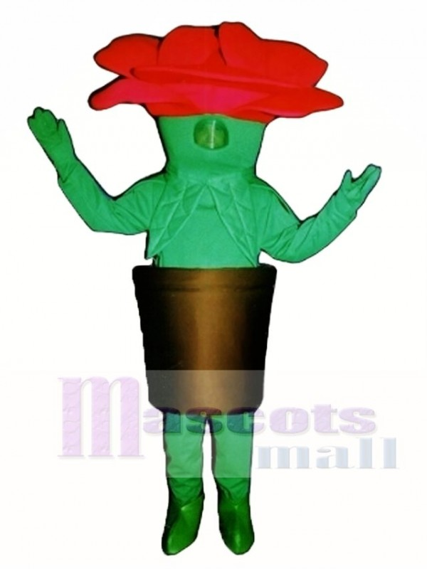 Potted Flower Mascot Costume