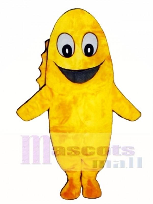 Cute Goldie Goldfish Mascot Costume