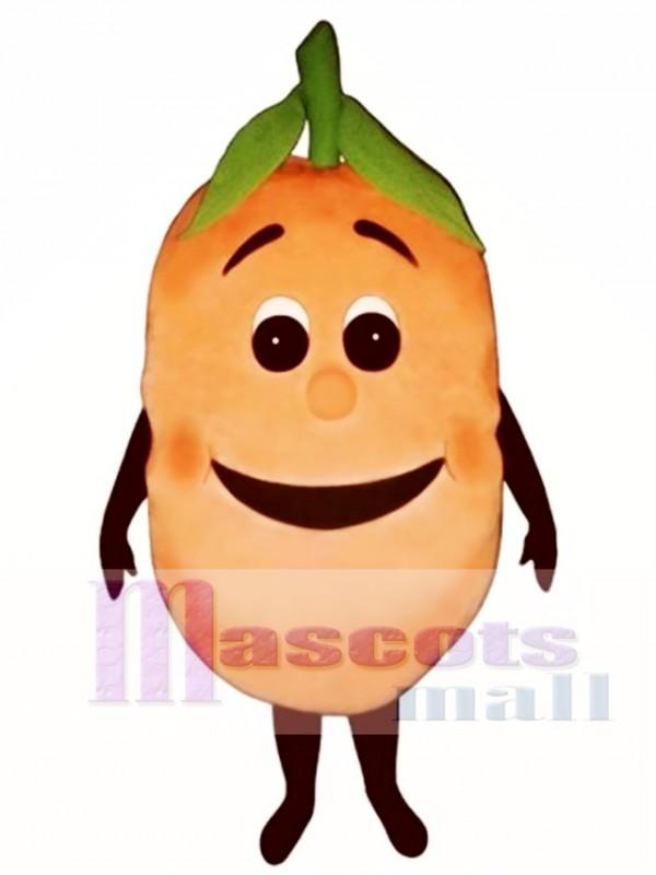 Peachie Mascot Costume
