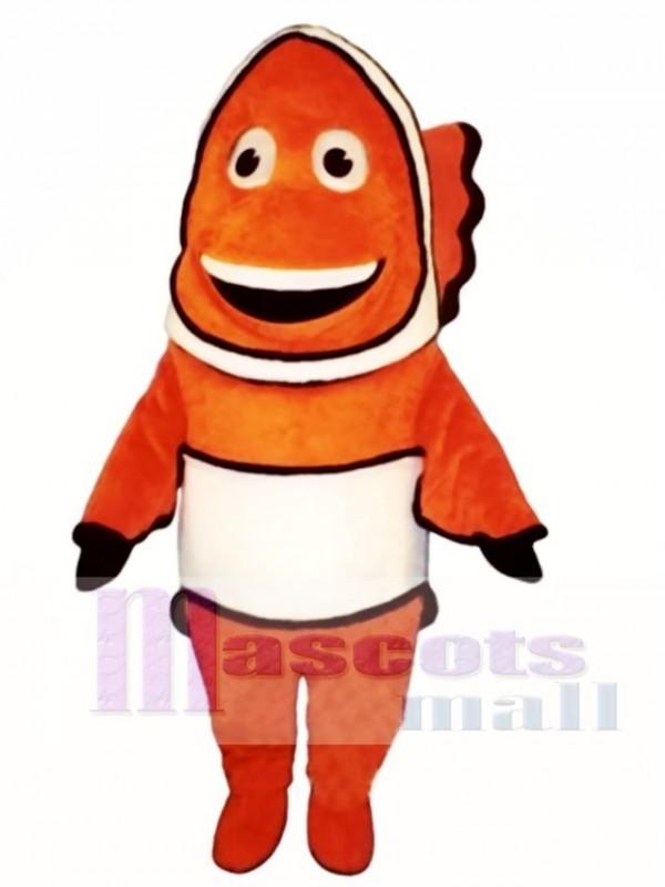 Cute Clown Fish Mascot Costume