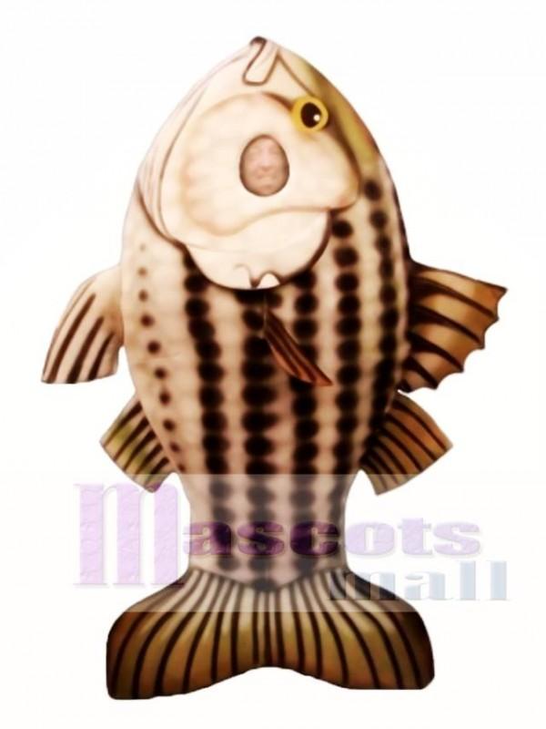 Striped Bass Mascot Costume