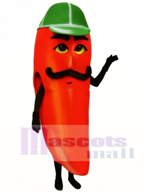 Hot Pepper Mascot Costume