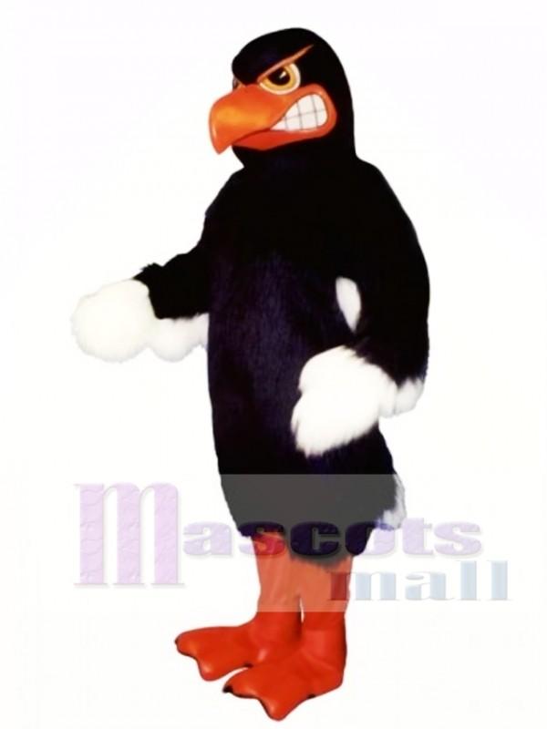 Cute Fighting Hawk Mascot Costume