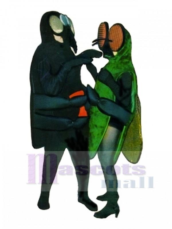 Spider (on the left )Mascot Costume