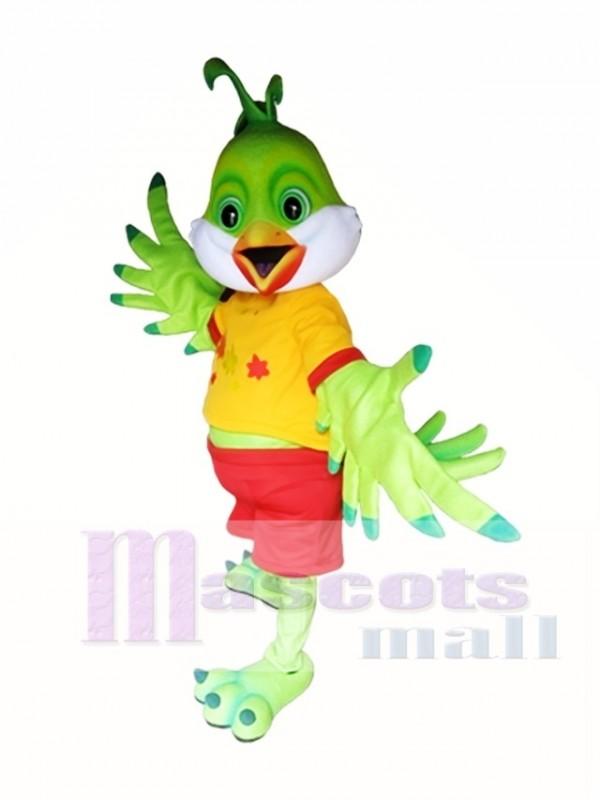 Green Bird Mascot Costume Bird Mascot Costumes