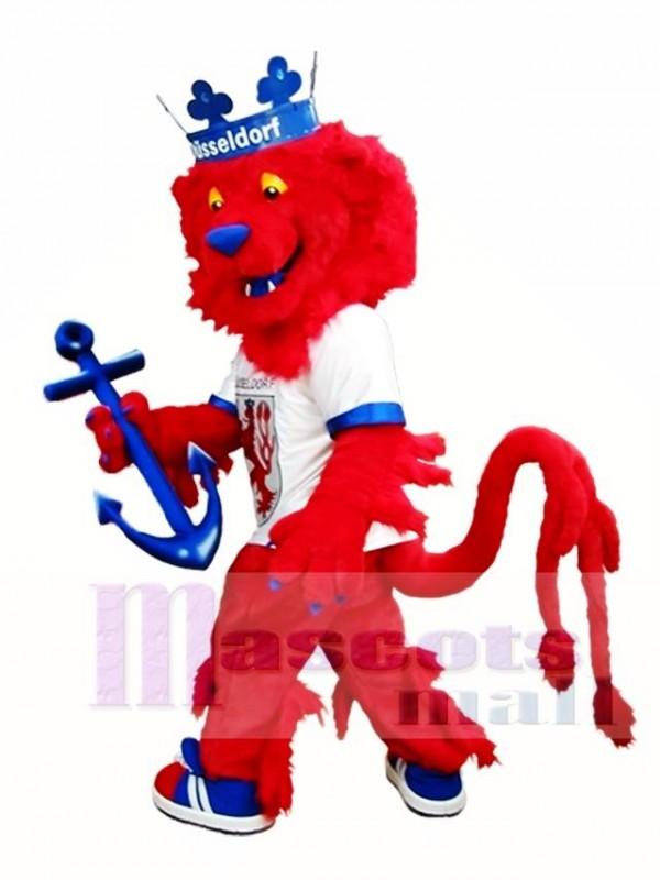 Red Lion Mascot Costume King Lion Mascot Costumes