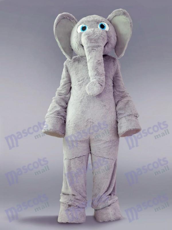 Grey Elephant Mascot Costume