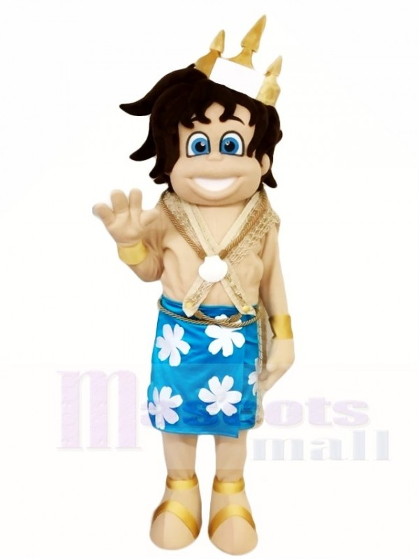 Kid Neptune Mascot Costumes People Mystery