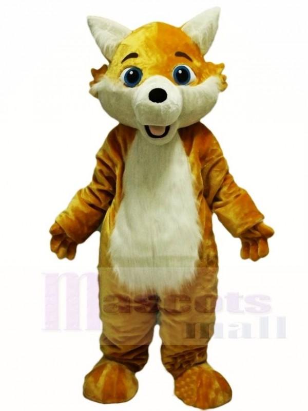 Yellow Fox Wolf Mascot Costumes Animal