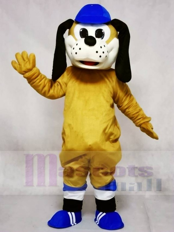 Dog in Blue Hat Mascot Costumes Animal