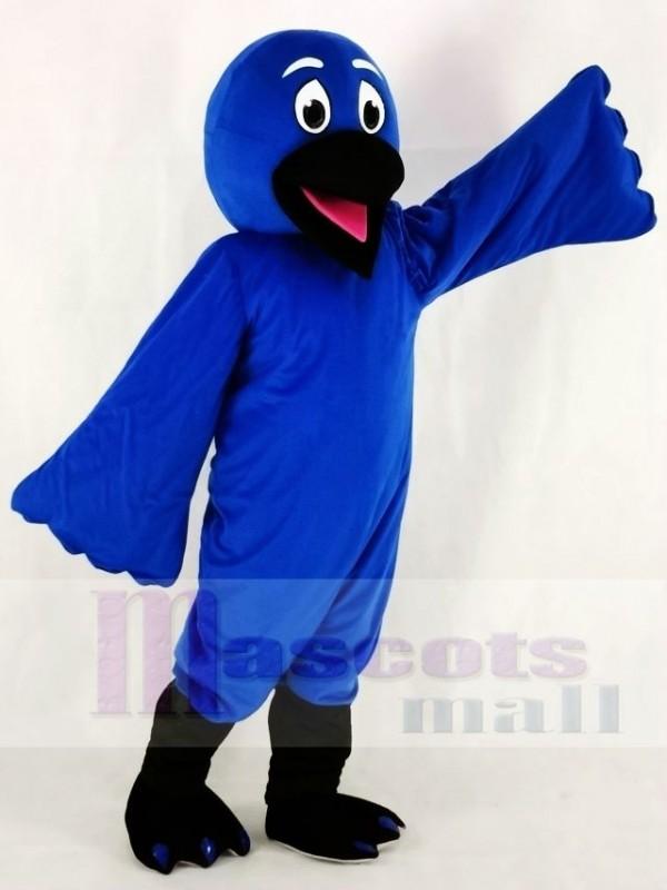 Blue Bird Raven Mascot Costumes Animal