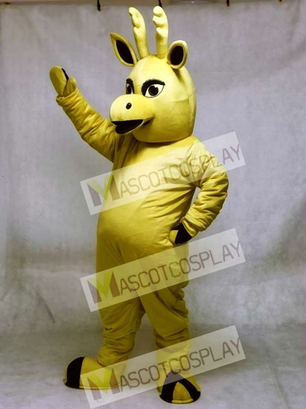 Cute Elk Deer Mascot Costume