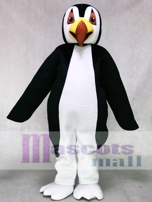 & Cute Puffin Penguin Mascot Costume Ocean