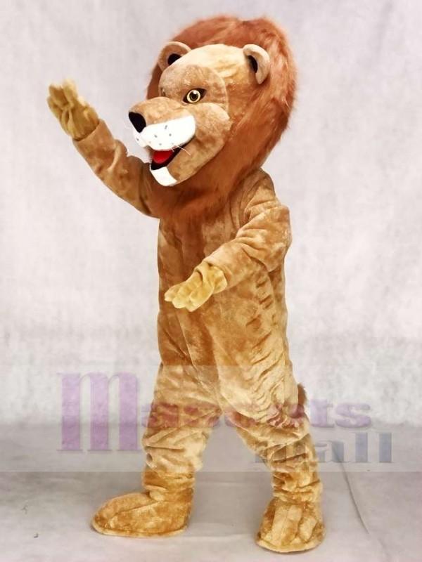f92624a21 Realistic Animal Male Fierce Lion Mascot Costume