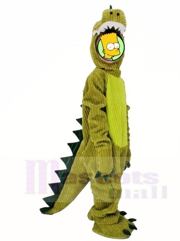 Christmas Dinosaur.For Children Kids Green Dinosaur Pajamas Pyjama Mascot Party Halloween Christmas Xmas Costumes
