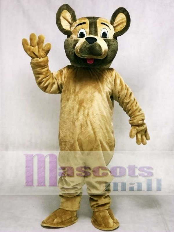 German Shepherd Sarge Dog Mascot Costume