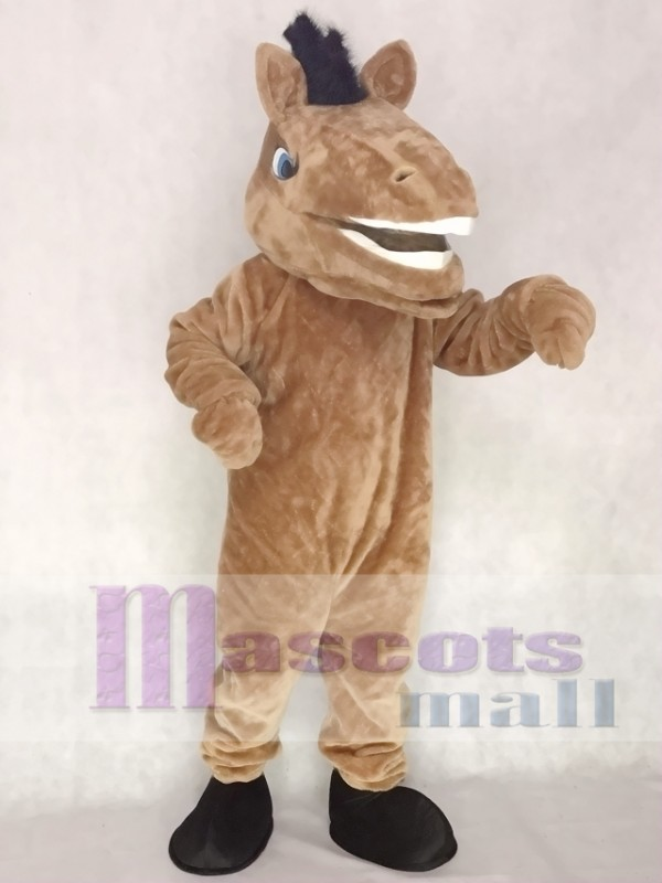 New Sport Team Broncho Horse Mascot Costume