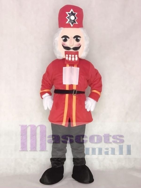 Nutcracker Christmas Mascot Costume Xmas