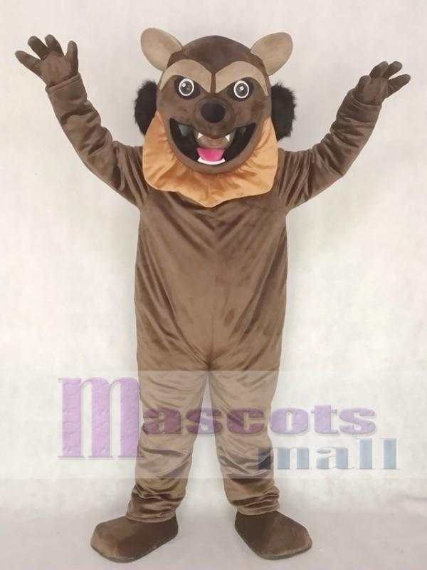 Wolverine Wolf Mascot Costume