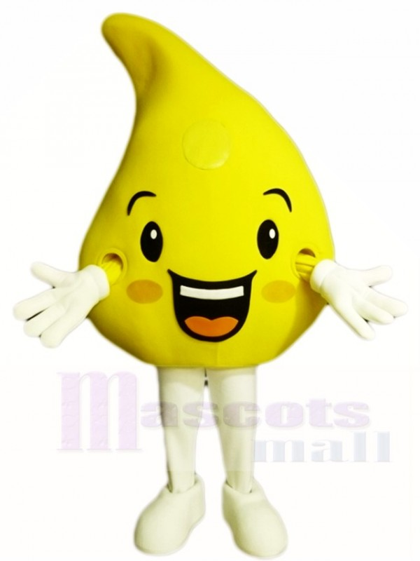 Yellow Lemon Mascot Costumes Fruit