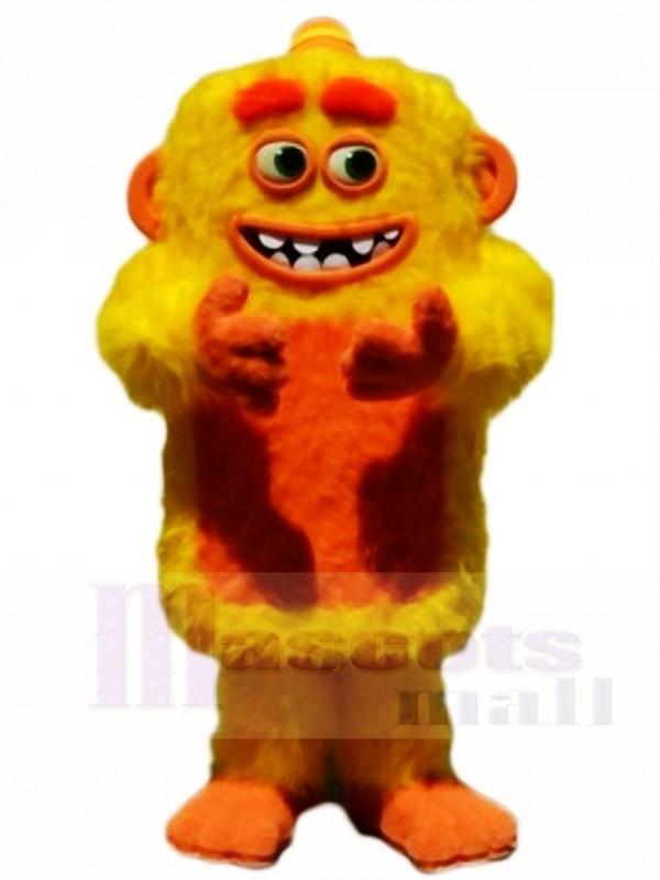 Yellow Max Monster Mascot Costume