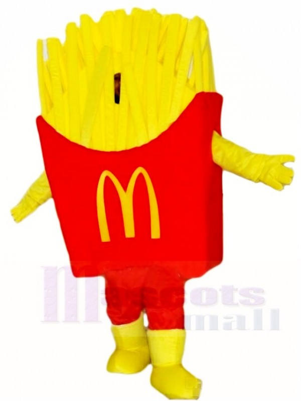 Mc Donald S Mcdonald S Chips French Fries Fried Mascot Costumes