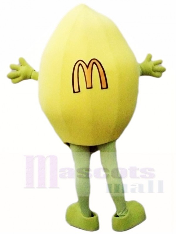 Mc Donald Lemon Mascot Costumes Fruit