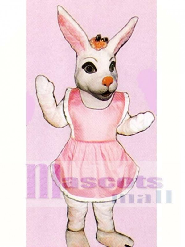 Easter Miss Bunny Mascot Costume