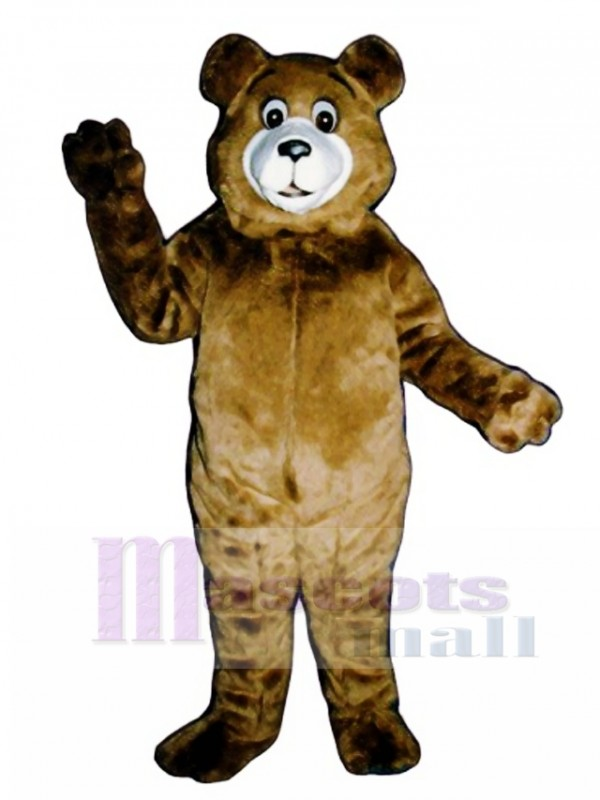 New Tommy Teddy Bear Mascot Costume