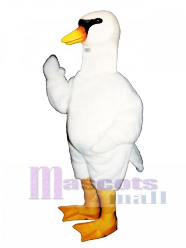 Cute Swan Mascot Costume