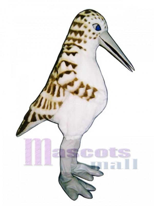 Cute Sandpiper Mascot Costume