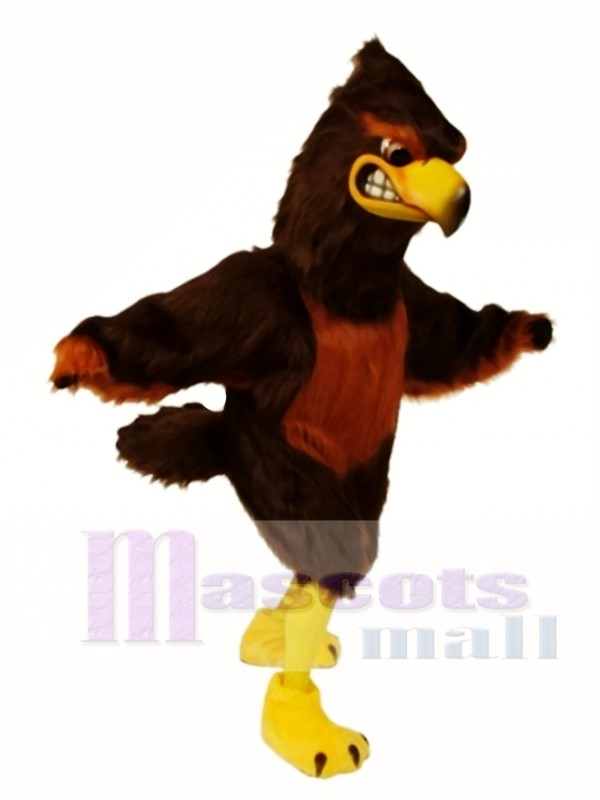 Cute Majestic Hawk Mascot Costume