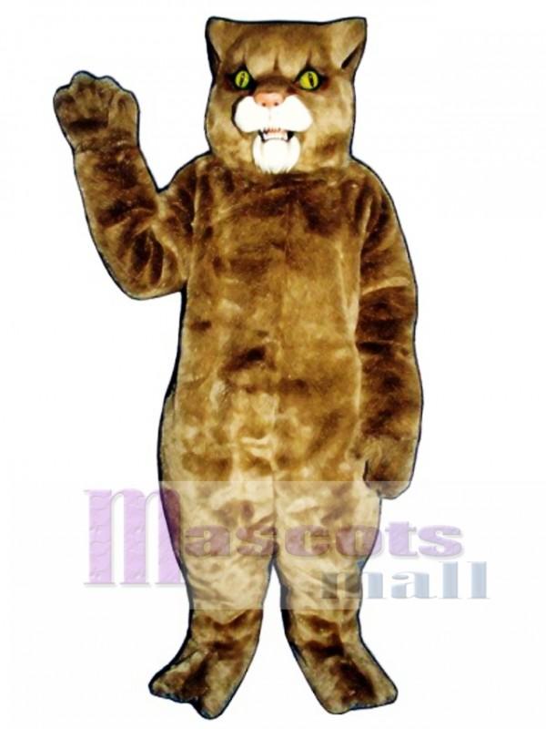 Cute Wildcat Cat Mascot Costume