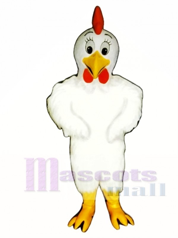 Cute Henny Chicken Mascot Costume