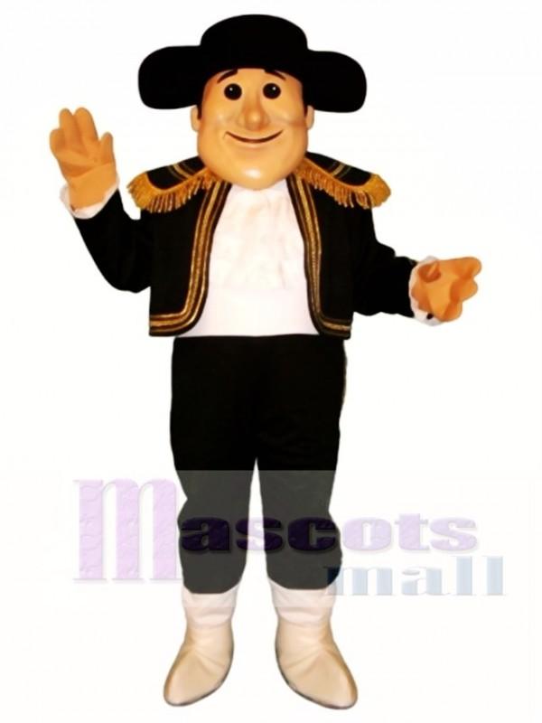 Matt Matador Mascot Costume