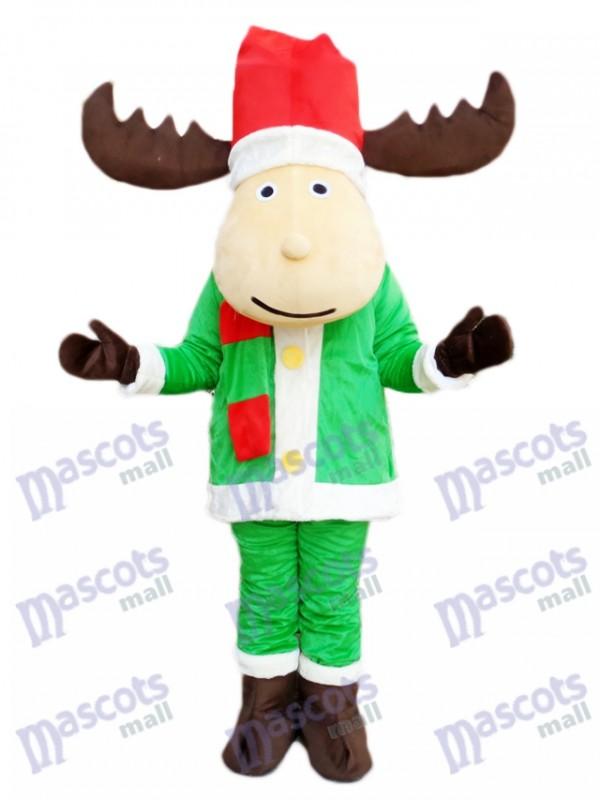Christmas Deer Reindeer Mascot Costume