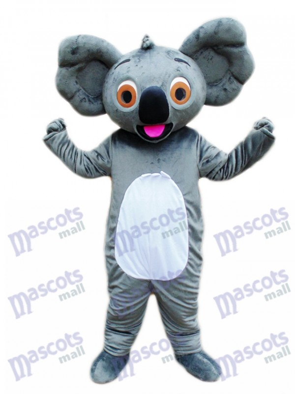 Koala with Red Tongue Mascot Costume Animal