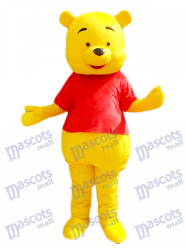Winnie the Pooh Mascot Costume Cartoon