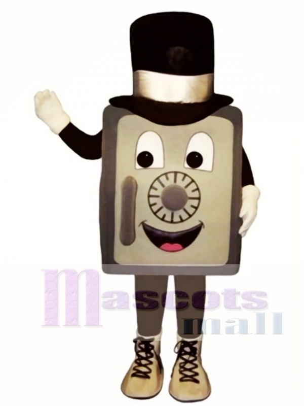 Safe with Top Hat Mascot Costume