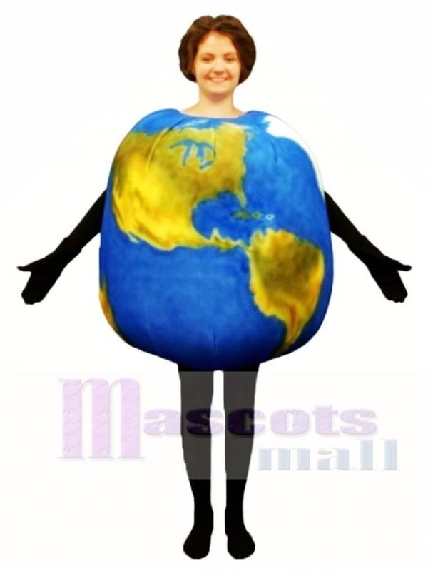 The Earth World  Mascot  Costume