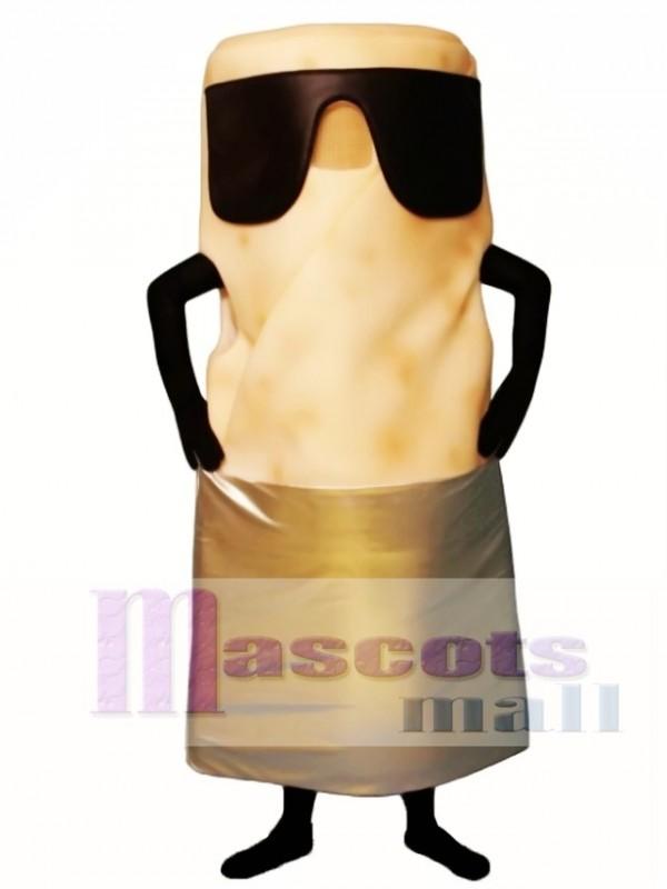Burrito with Sunglasses Mascot Costume